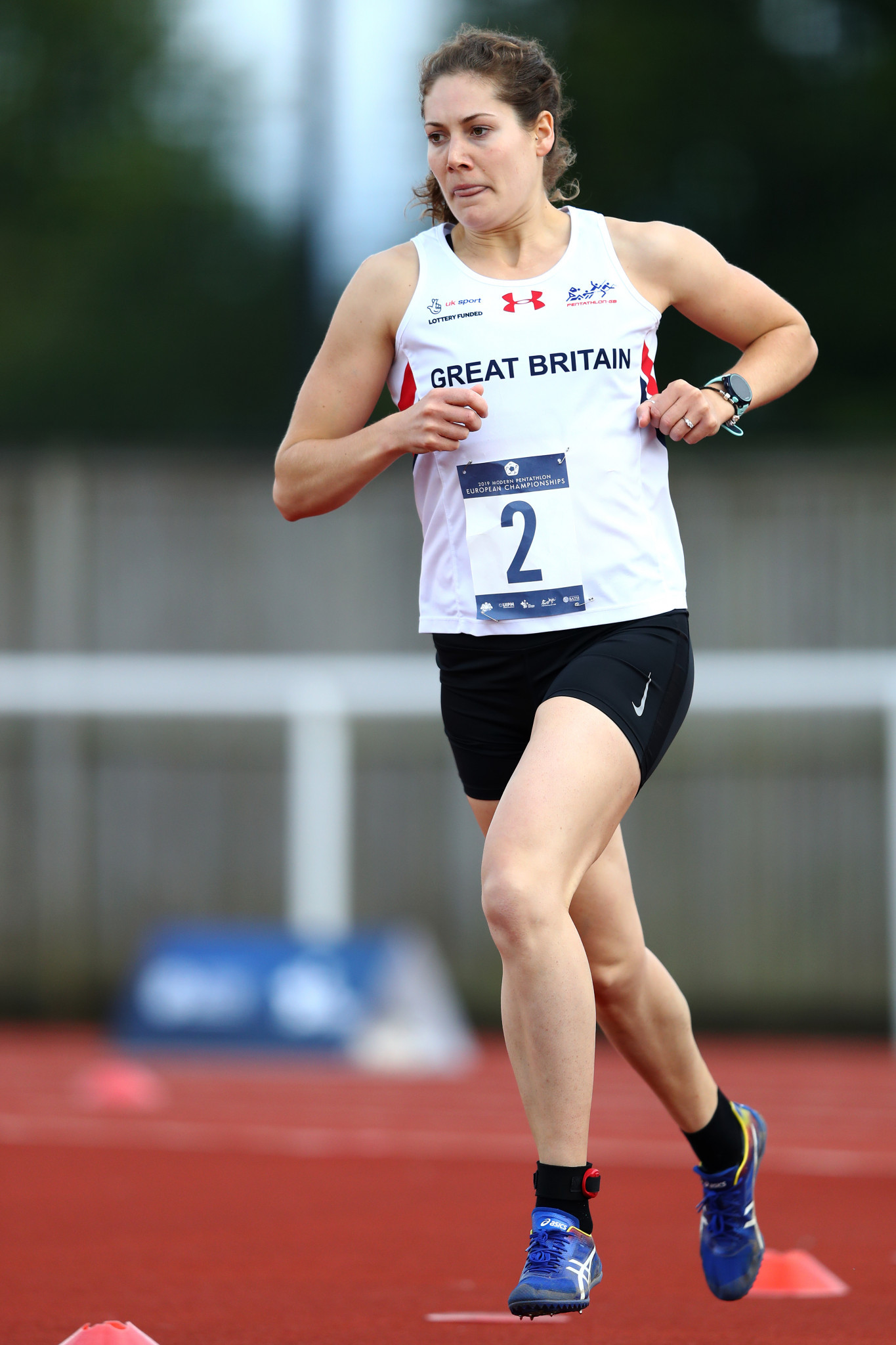 Great Britain's Kate French produced the goods in women's individual qualification ©Getty Images