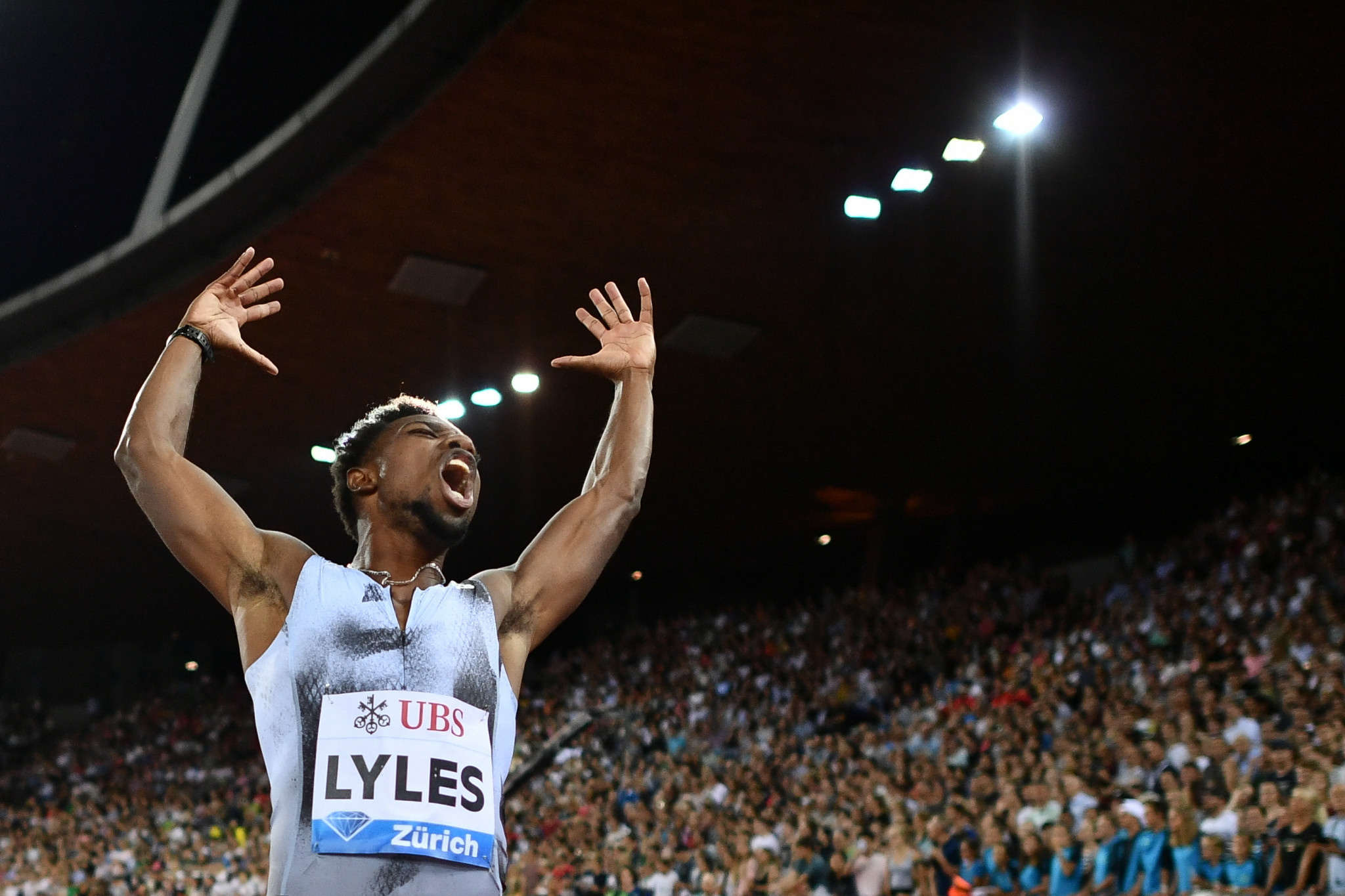 Lyles looking for third consecutive Diamond League 200m title in Brussels
