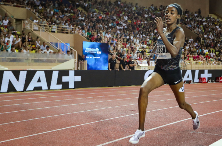 Sifan Hassan broke the women's world mile record this season ©Getty Images