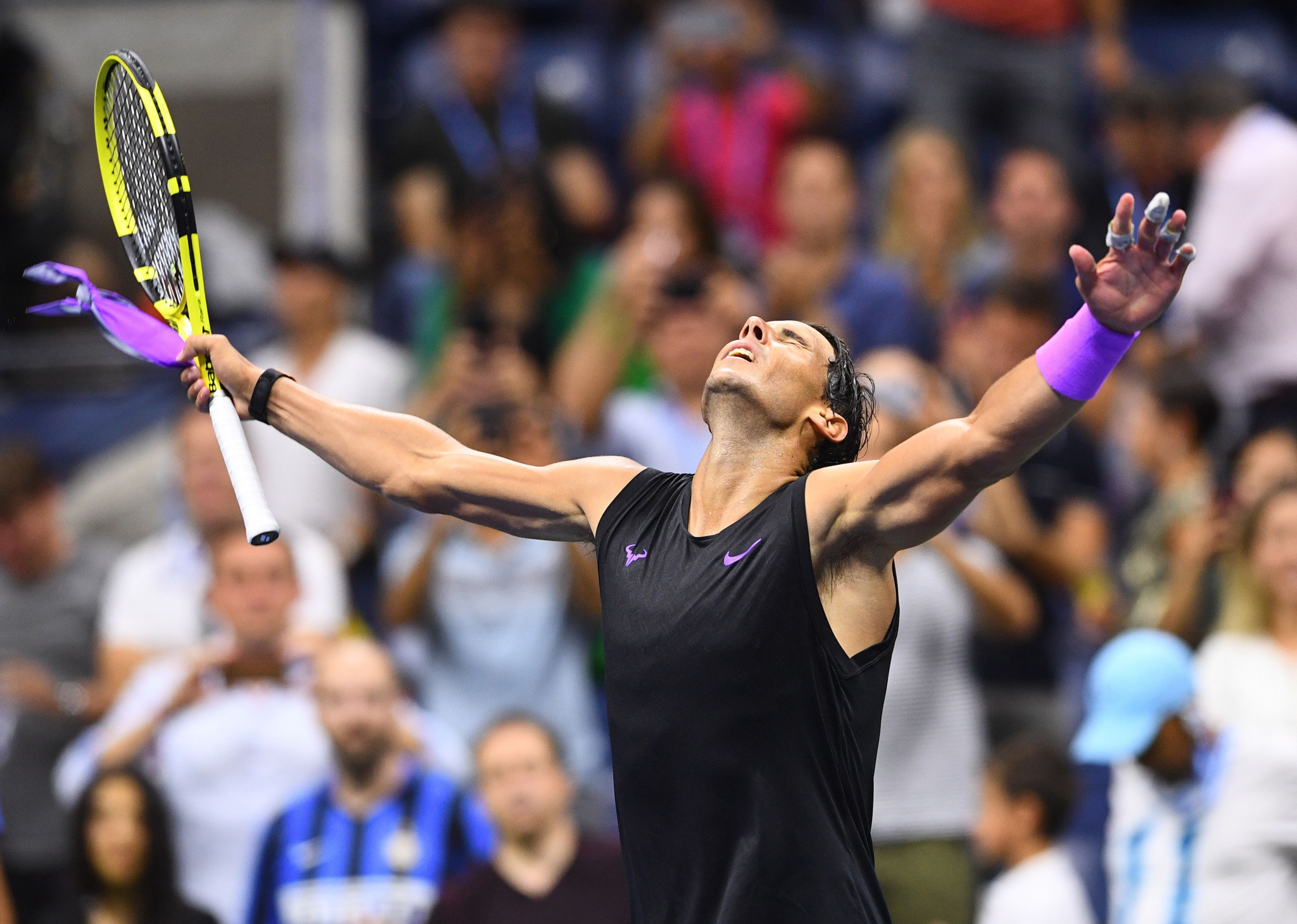 Nadal beats Schwartzman in straight sets to remain on track for fourth US Open