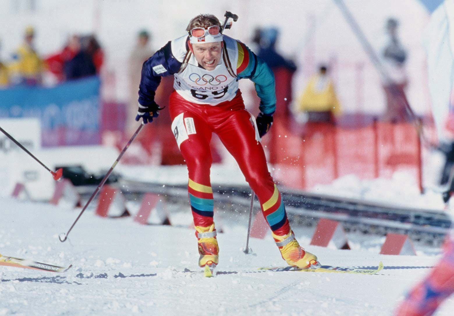 Tributes paid after triple Olympic biathlon champion Hanevold dies aged 49