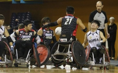 Japan and hosts South Korea both feature in the five-team field ©IWRF