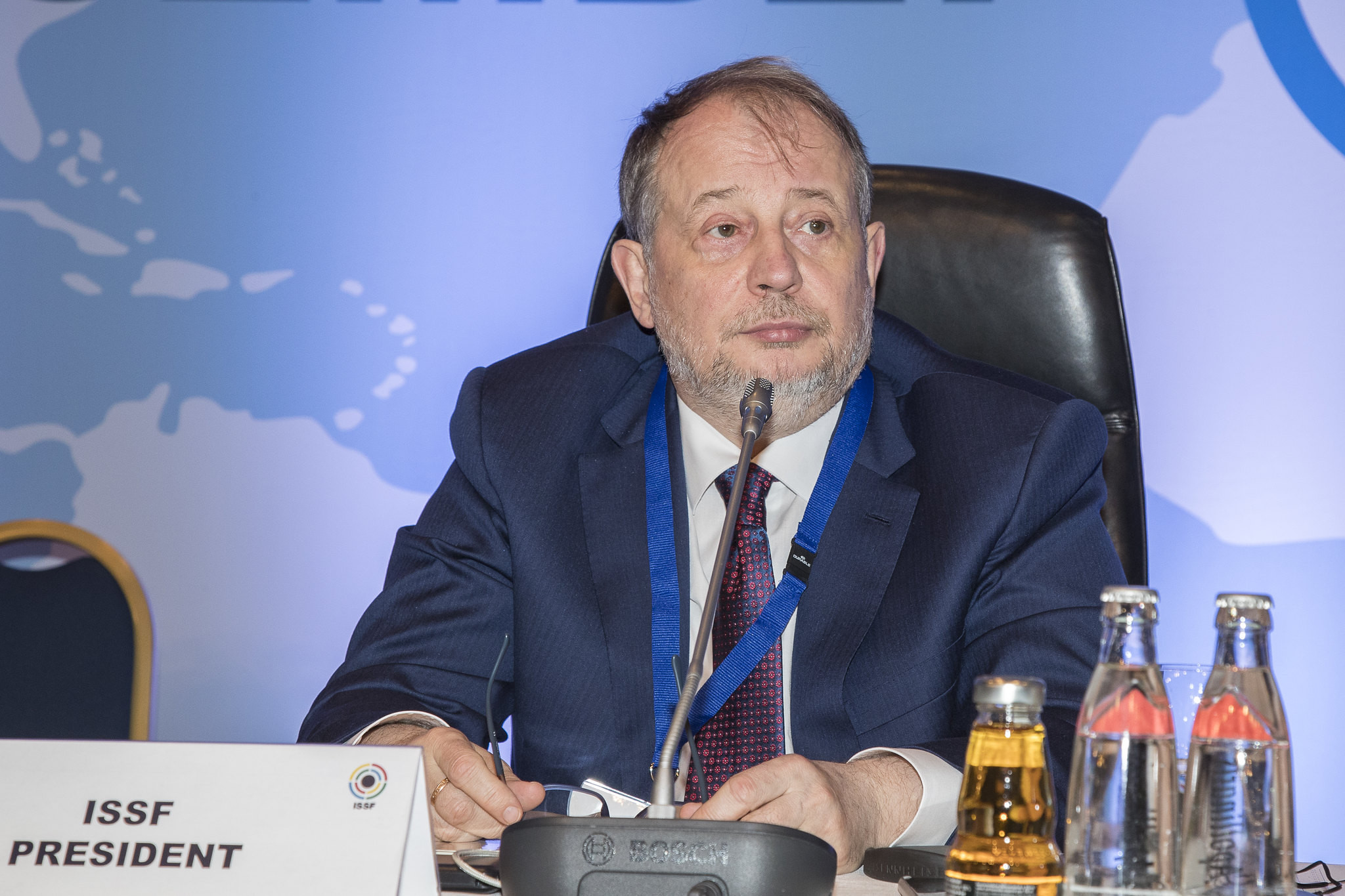 ISSF President Vladimir Lisin is attempting to drive through changes to the constitution ©ISSF