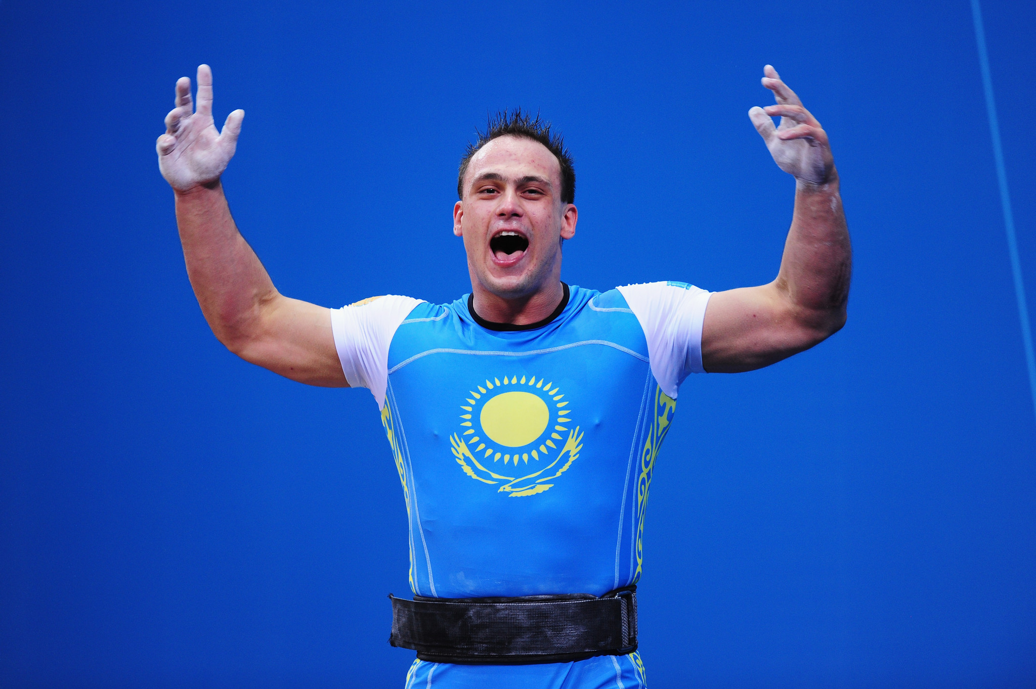Kazakhstan's serial drugs cheat Ilya Ilyin is still hopeful of making Tokyo 2020 having already been stripped of Olympic gold medals from Beijing 2008 and London 2012 because of doping ©Getty Images