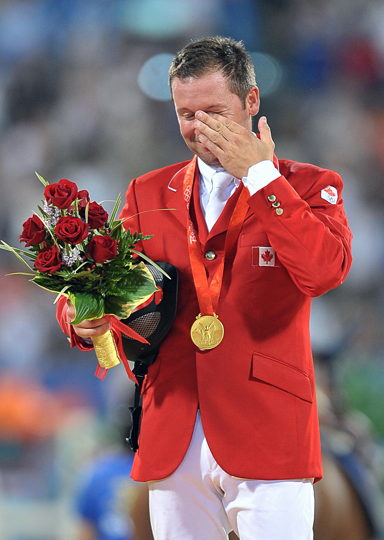 Eric Lamaze won individual Olympic gold at Beijing 2008 ©Getty Images