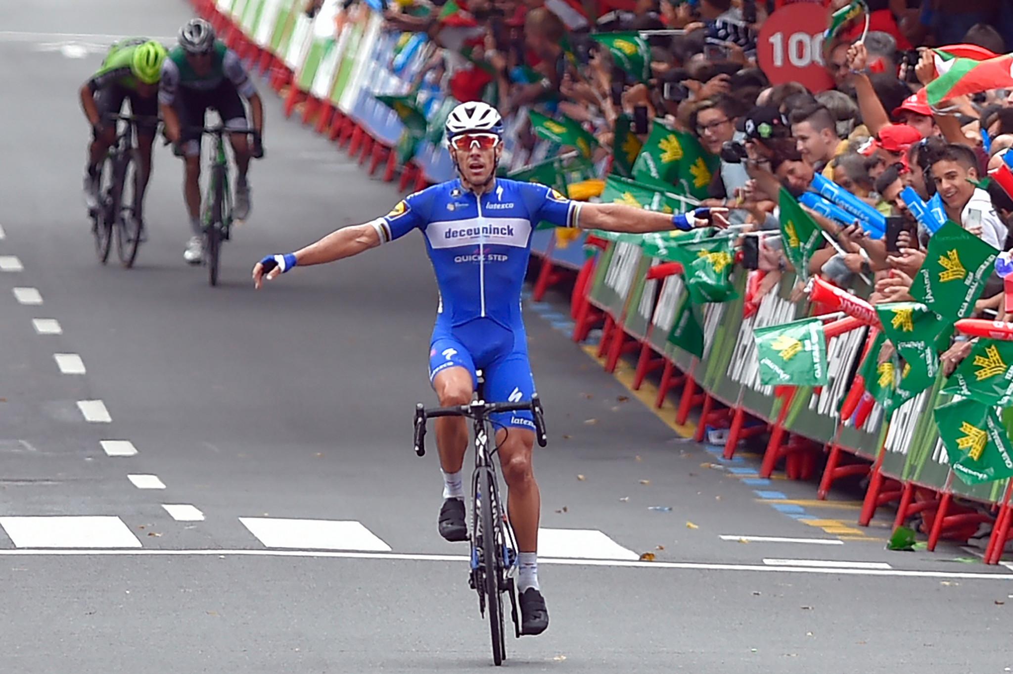 Gilbert wins stage 12 as Roglič retains red jersey at Vuelta a España