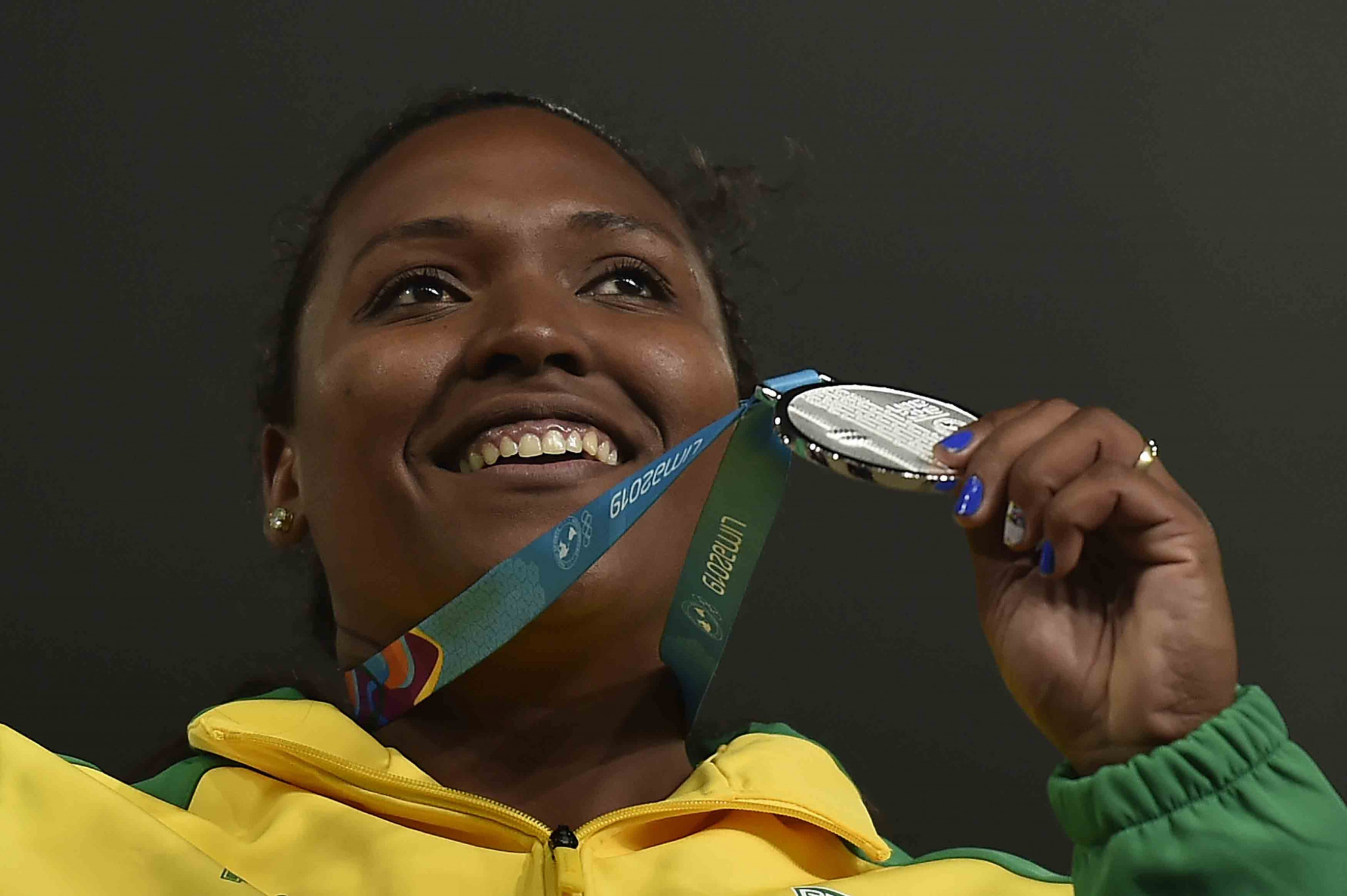 Andressa Oliveira de Morais could lose her Lima 2019 silver medal ©Getty Images