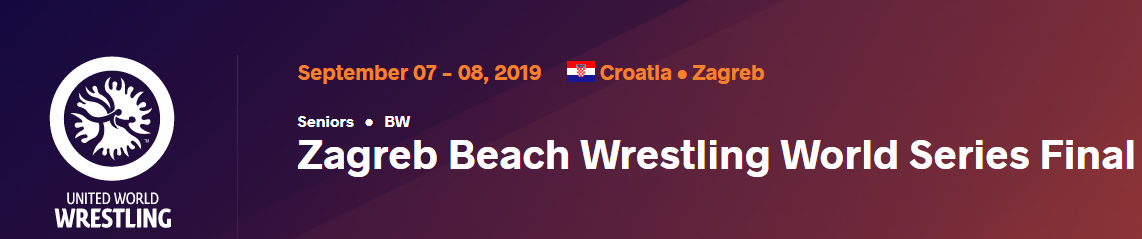 Zagreb ready to host Beach Wrestling World Series Final