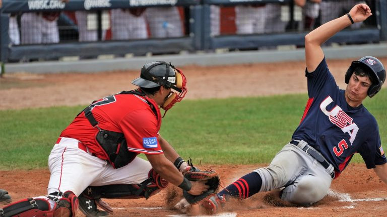 Chinese Taipei and United States tied for top spot at WBSC Under-18 World Cup