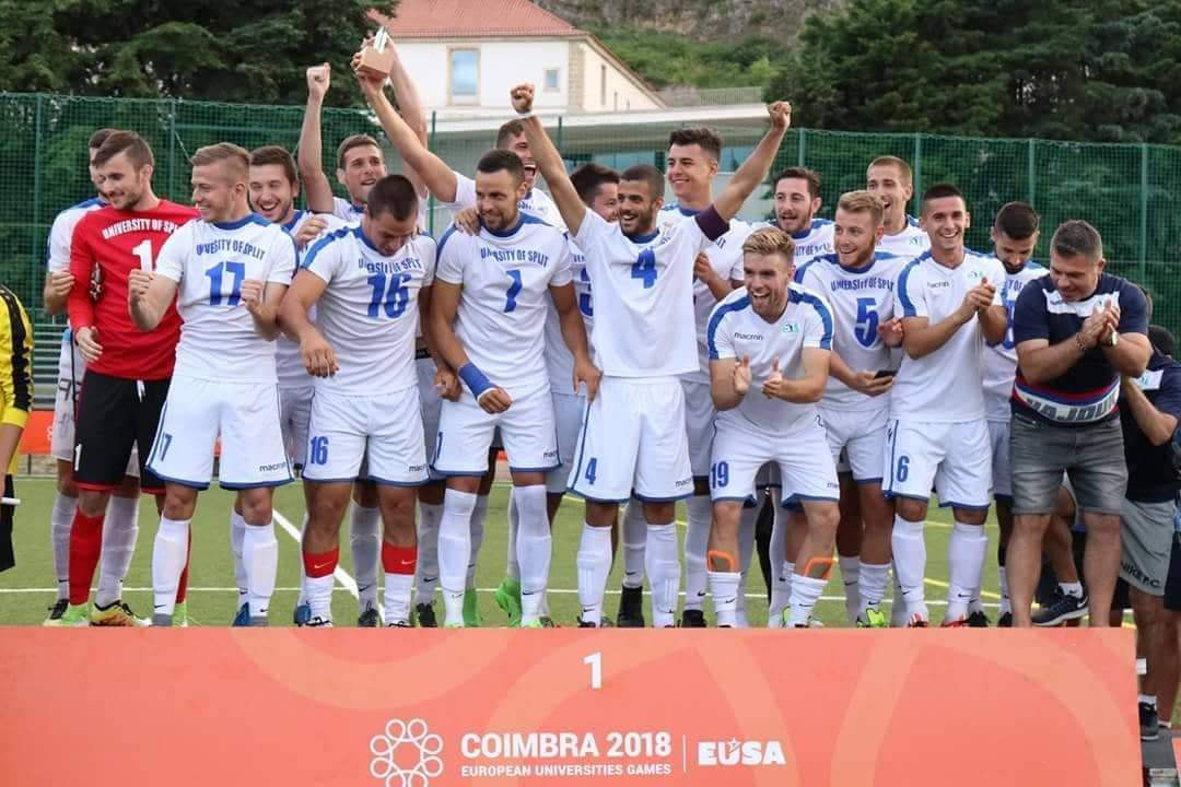 The men's team from the University of Split will be placed in Pool One ©FISU