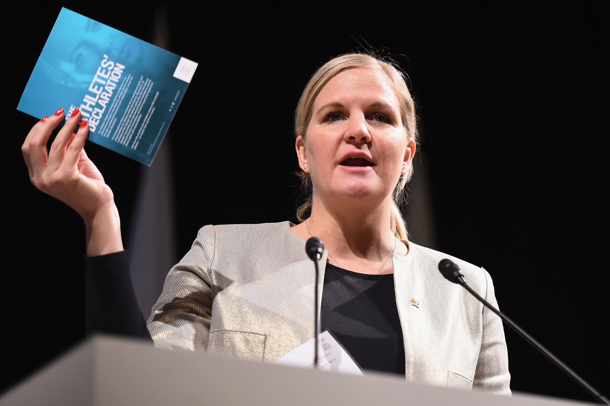 The IOC Athletes' Commission is chaired by Zimbabwe's Kirsty Coventry ©Getty Images