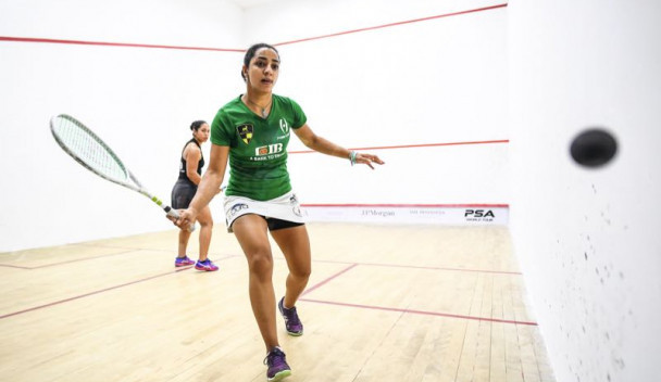 Top seeds through to semi-finals at China Squash Open