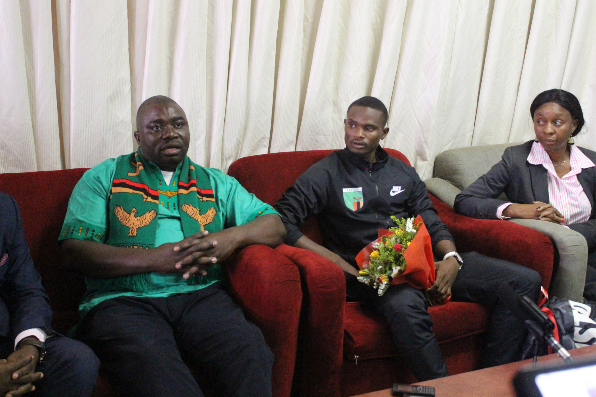 National Olympic Committee of Zambia President praises African Games medallists