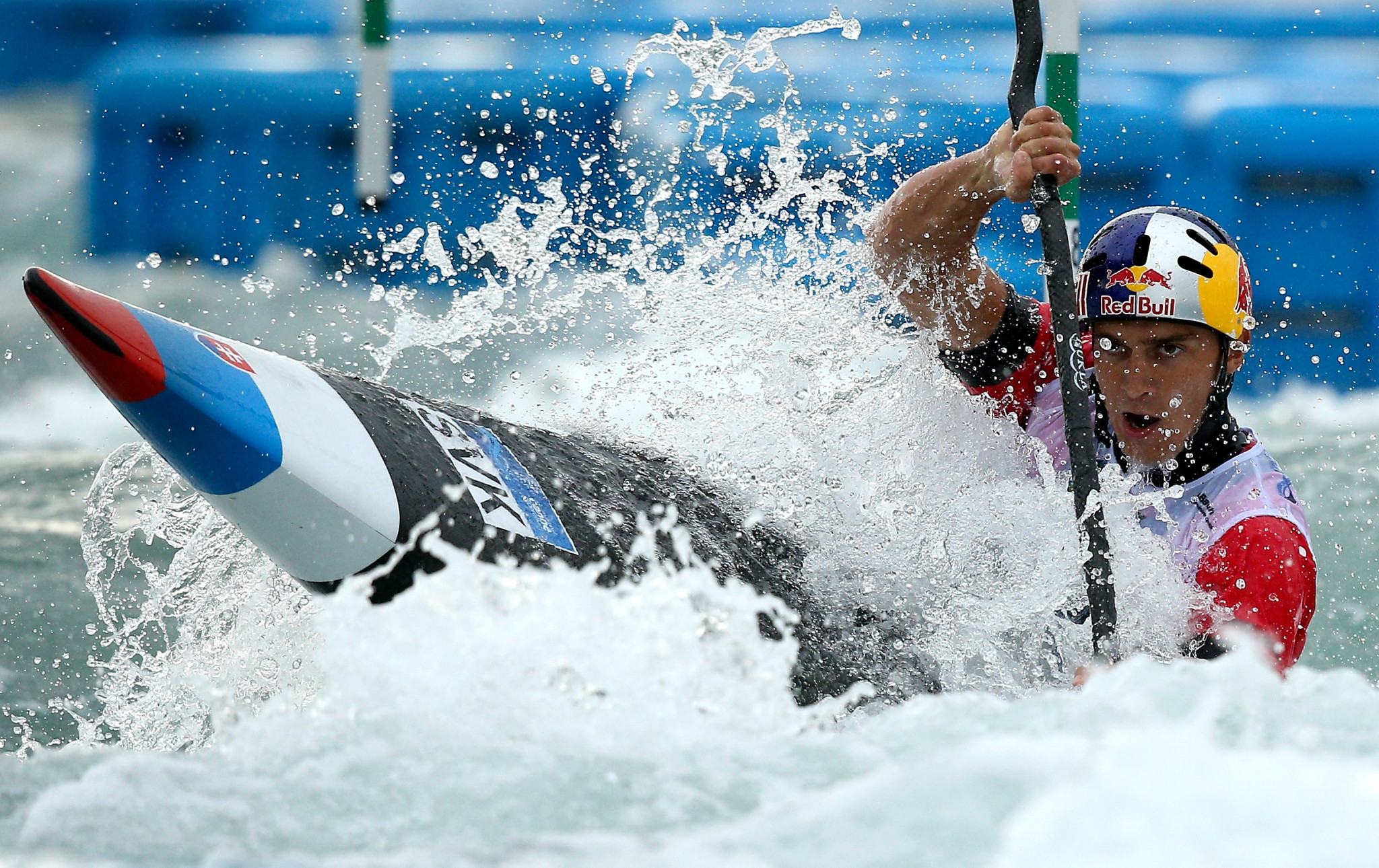 Grigar posts fastest K1 time at ICF Canoe Slalom World Cup final