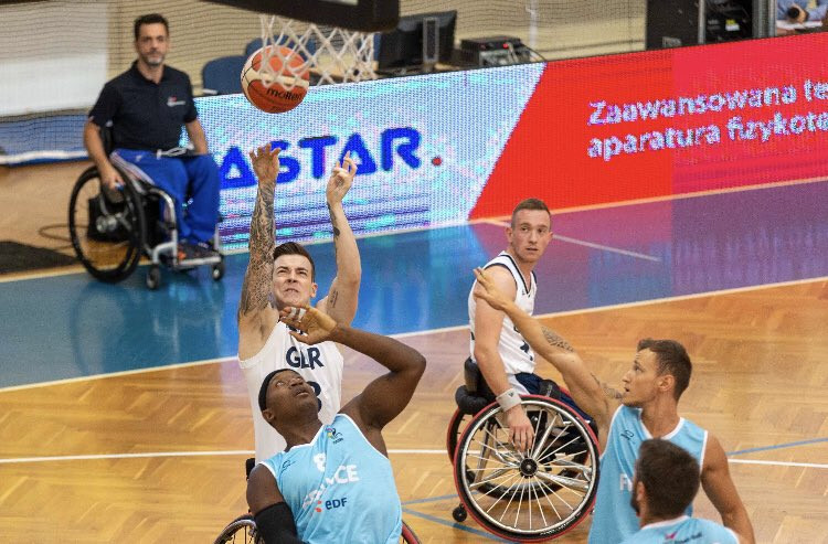 Four teams secure Tokyo 2020 berths as semi-final line-up decided at IWBF Men's European Championship Division A