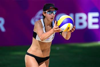 Humana-Paredes and Pavan reach last eight at FIVB Beach World Tour Finals