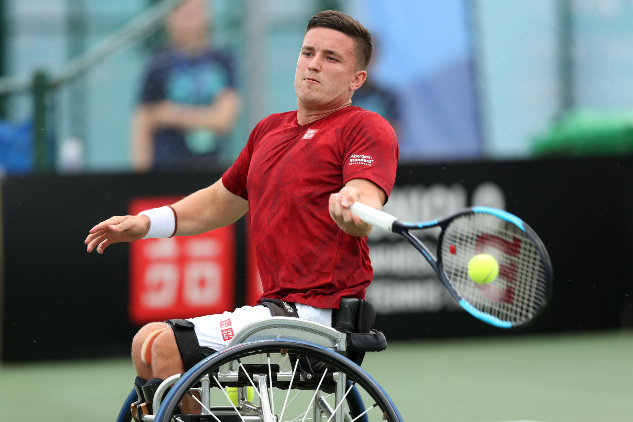 Fernández and Alcott closing in on wheelchair tennis grand slams at US Open
