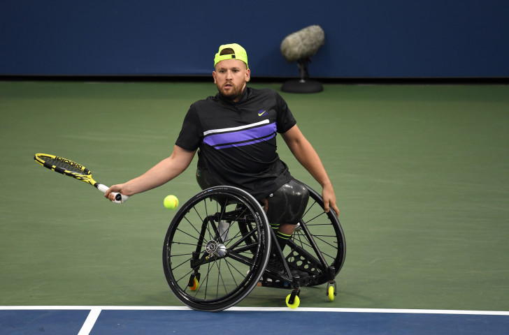 Australia's Dylan Alcott tops the round-robin standings as he bids for a calendar year grand slam ©Getty Images