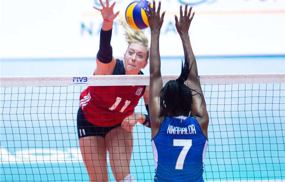 Defending champions Italy recover to win opener at FIVB Girls' Under-18 World Championship