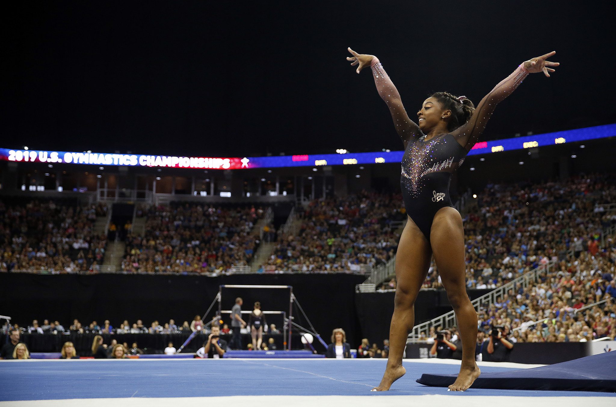 Biles and Burroughs among nominees for USOPC Best of August awards