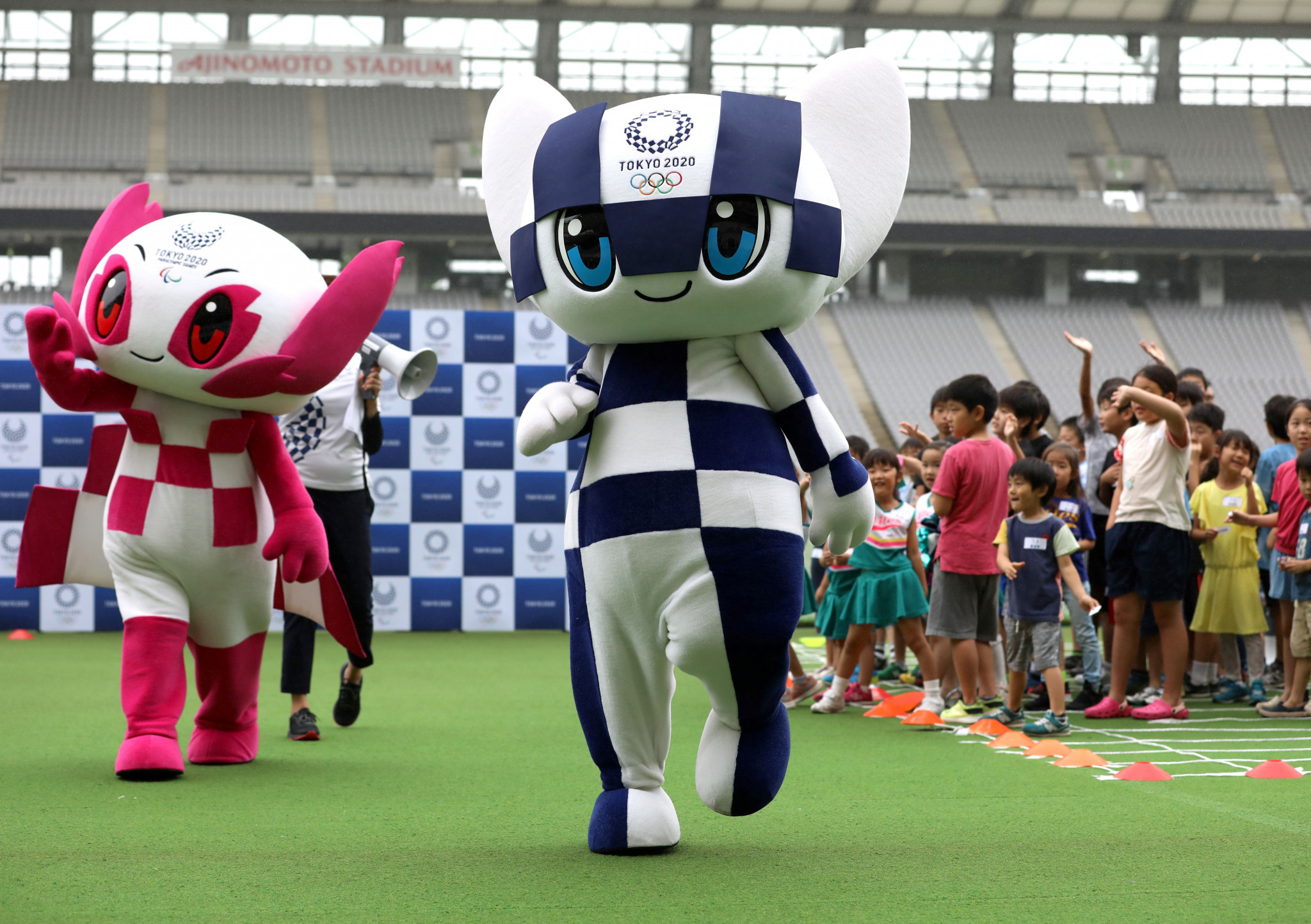 "Tokyo 2020 launch ""Make the Beat!"" campaign"