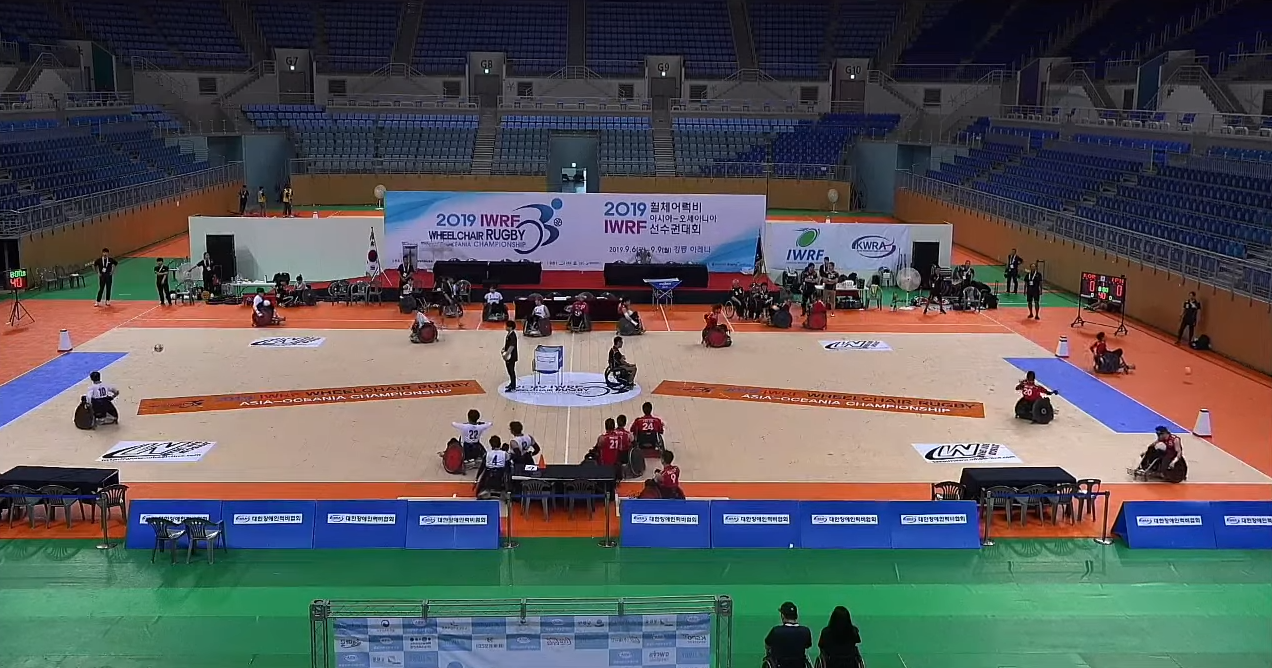 New Zealand and South Korea will hope to secure a Paralympic berth ©YouTube