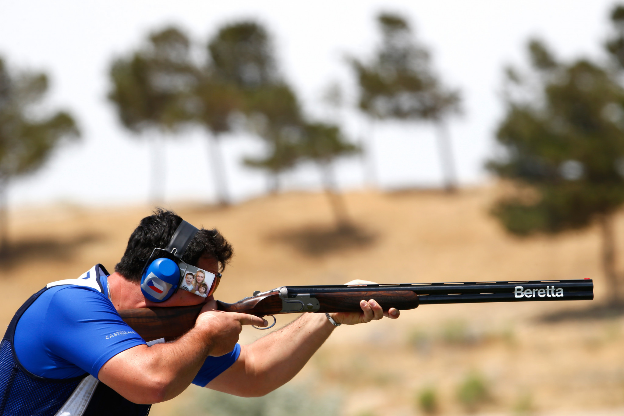 Lipták wins men's trap gold at European Championship Shotgun