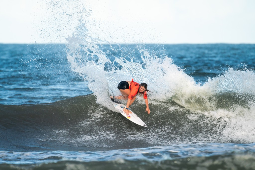 Caroline Marks of the United States excelled on the opening day as the women's preliminaries started ©ISA
