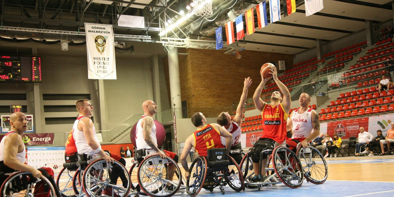 Spain booked their place in the European Championship final ©IWBF