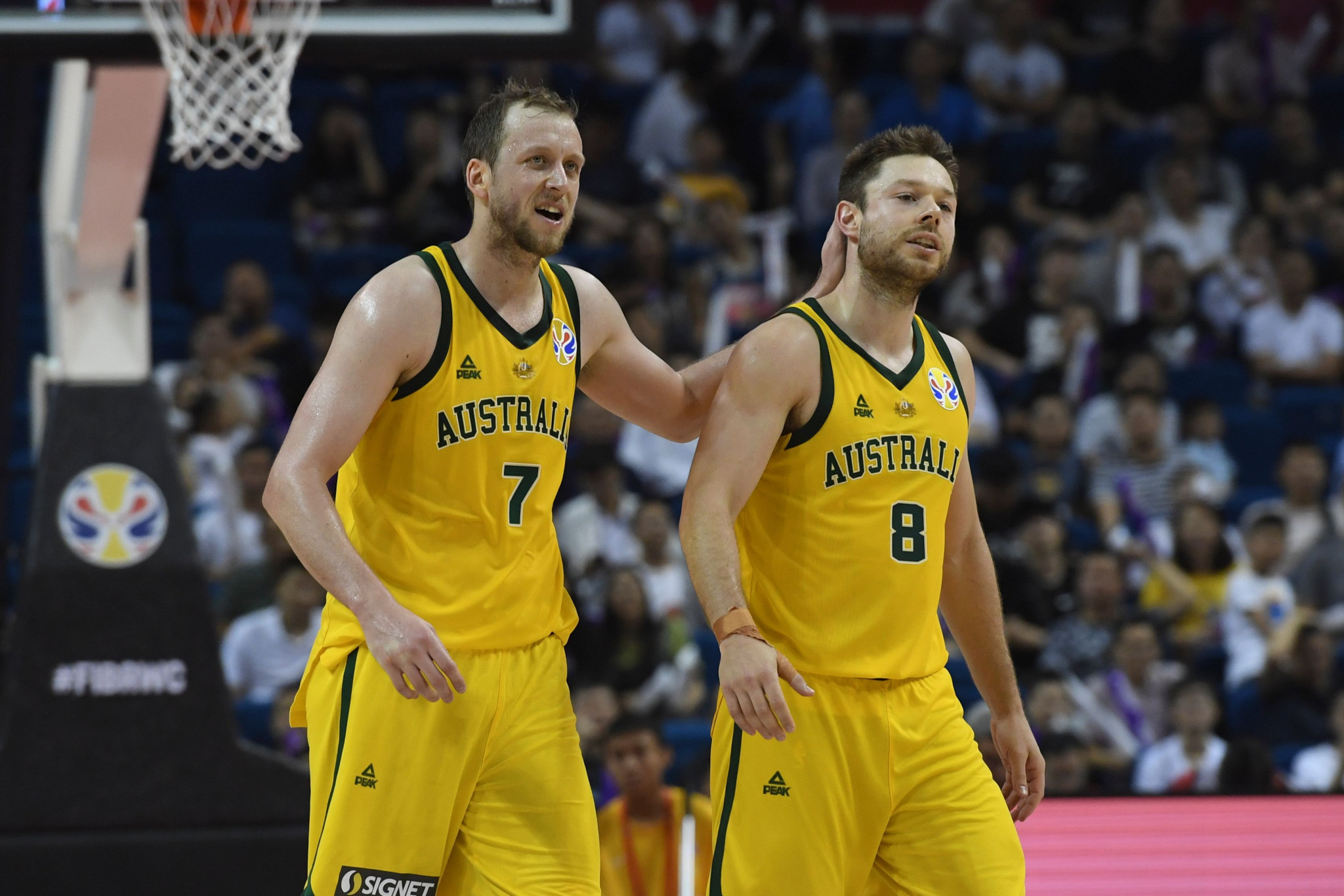 Australia and France seal quarter-final spots at FIBA World Cup