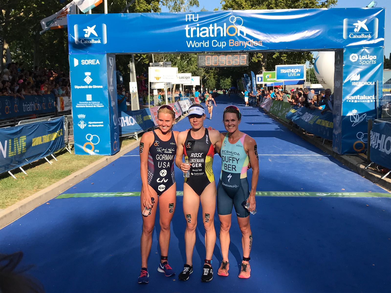 Lindemann and Luis claim ITU World Cup victories in Spain