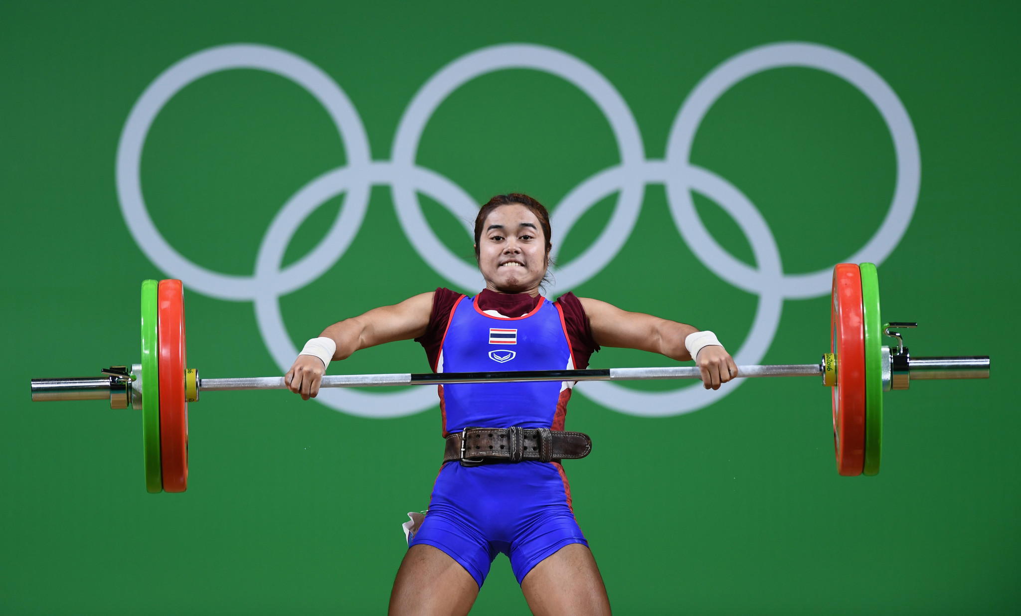 Thailand will not compete at their home World Championships due to failures by lifters such as Olympic champion Sopita Tanasan ©Getty Images