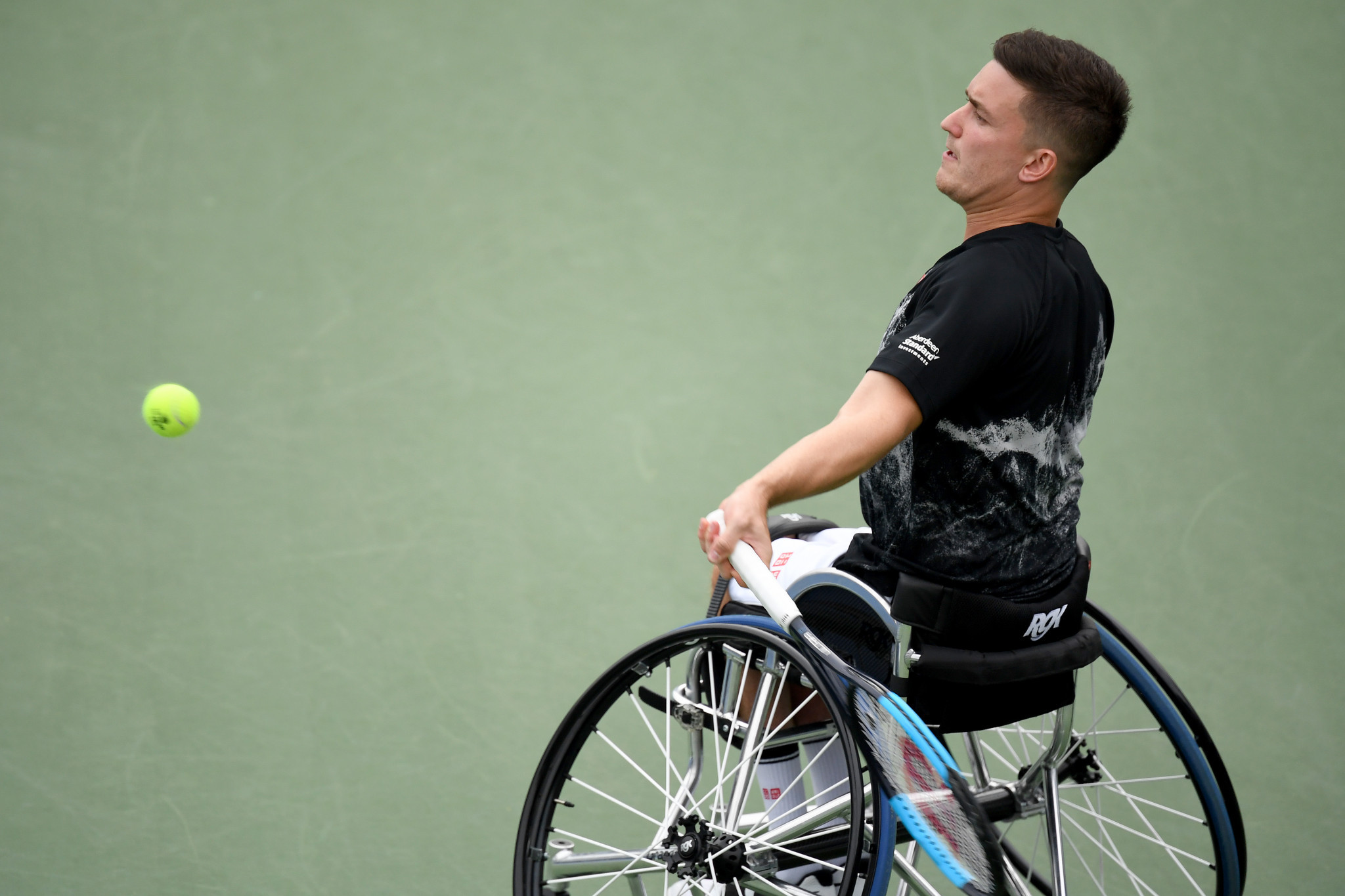 Britain's Alfie Hewett progressed to the men's singles and doubles finals ©Getty Images