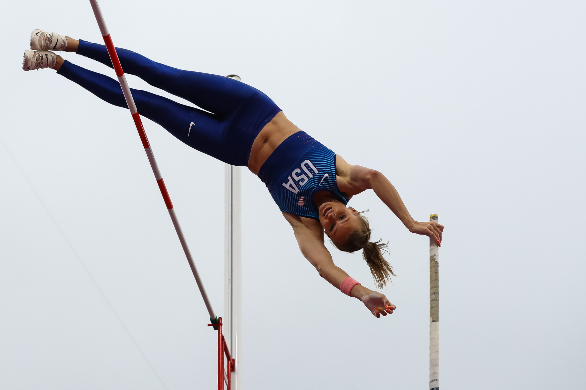 In-form Katie Nageotte will represent the US in the women's pole vault ©Getty Images