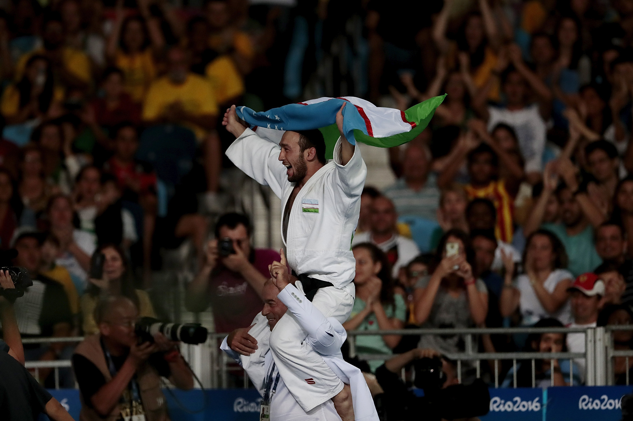 Uzbekistan in seventh heaven at IBSA Judo Asian and Oceanian Championships