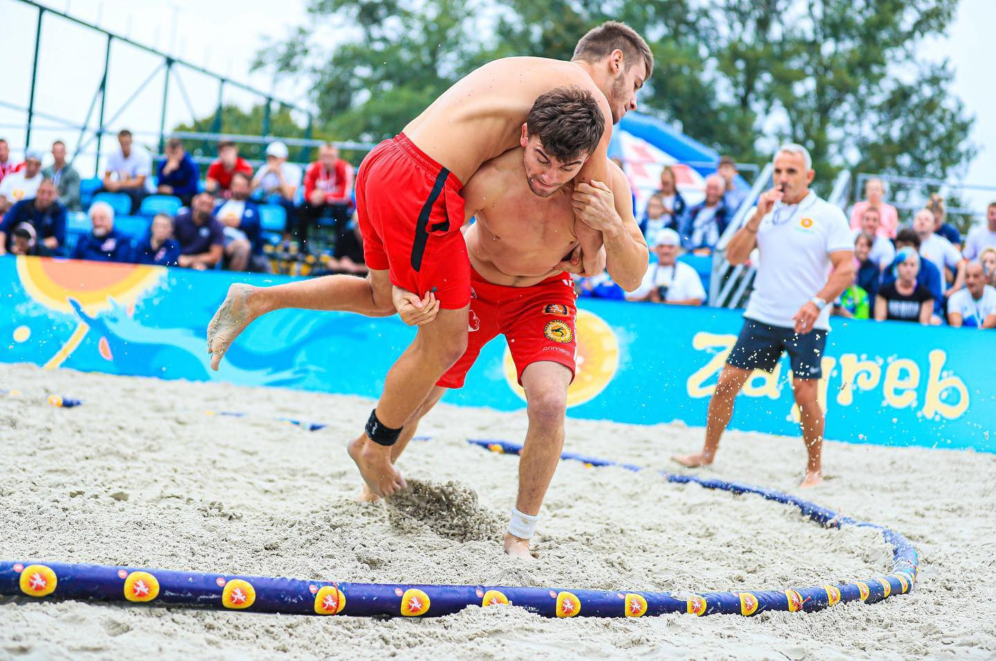 Kelekhsashvili leads Georgian medal haul at UWW Beach Wrestling World Series final