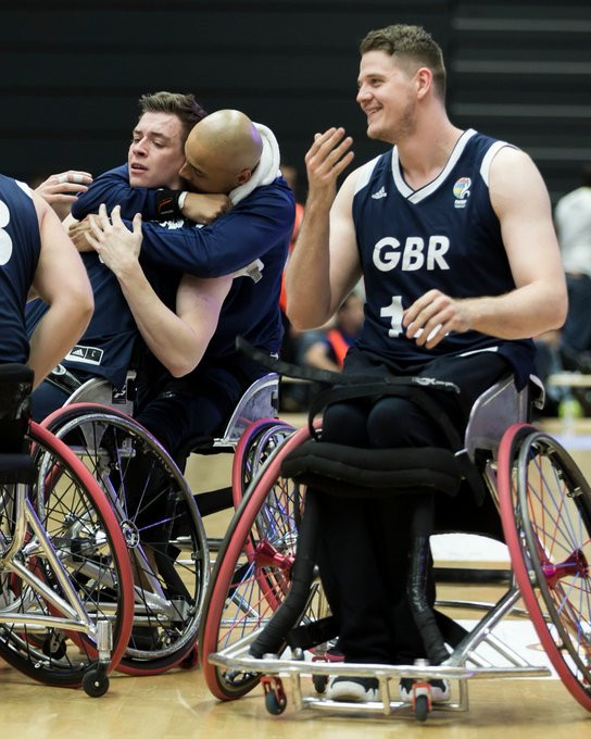 Britain overcame Spain to win a third European title in four editions ©IWBF