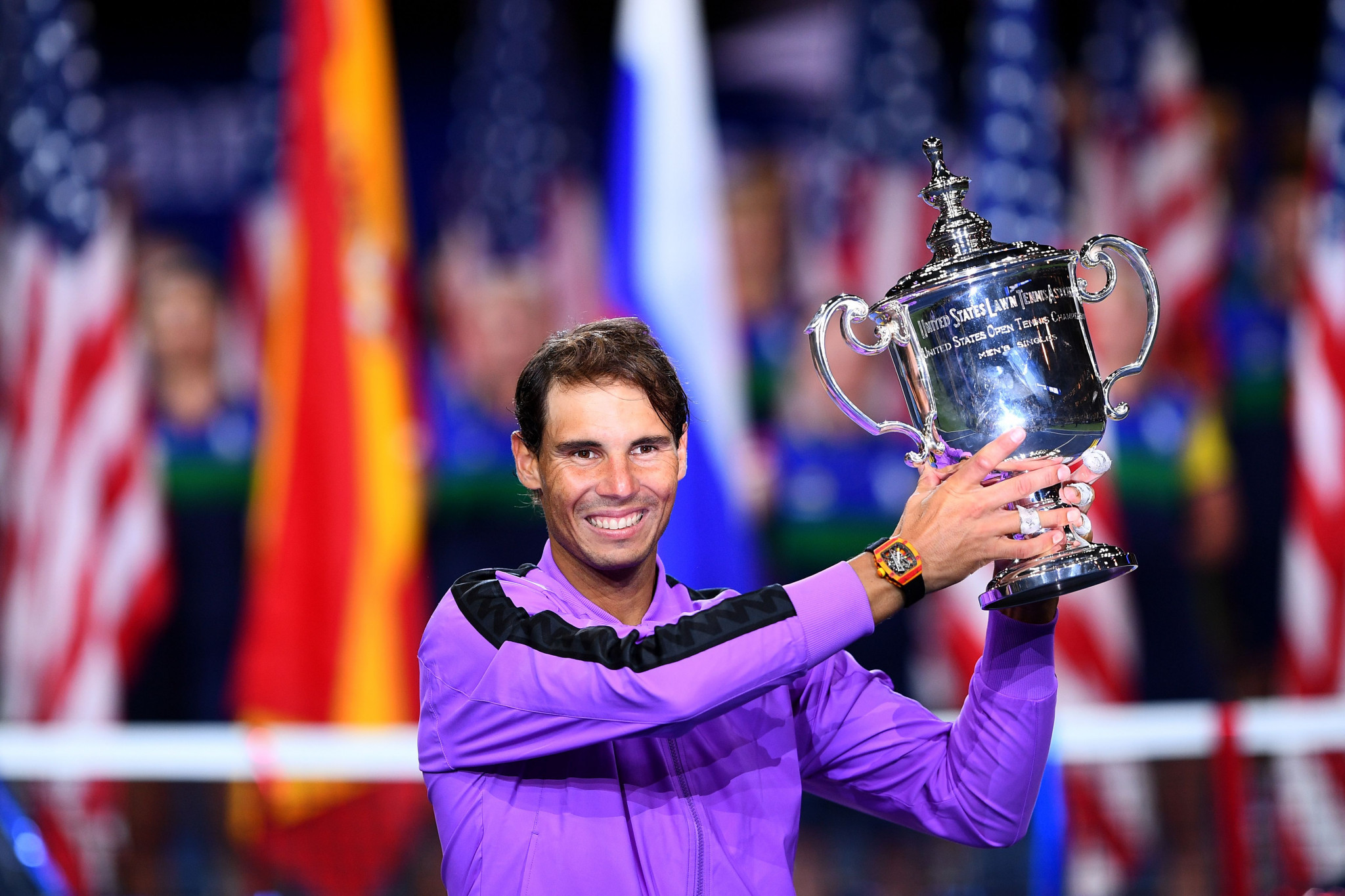 Nadal fends off Medvedev comeback to win fourth US Open in classic final