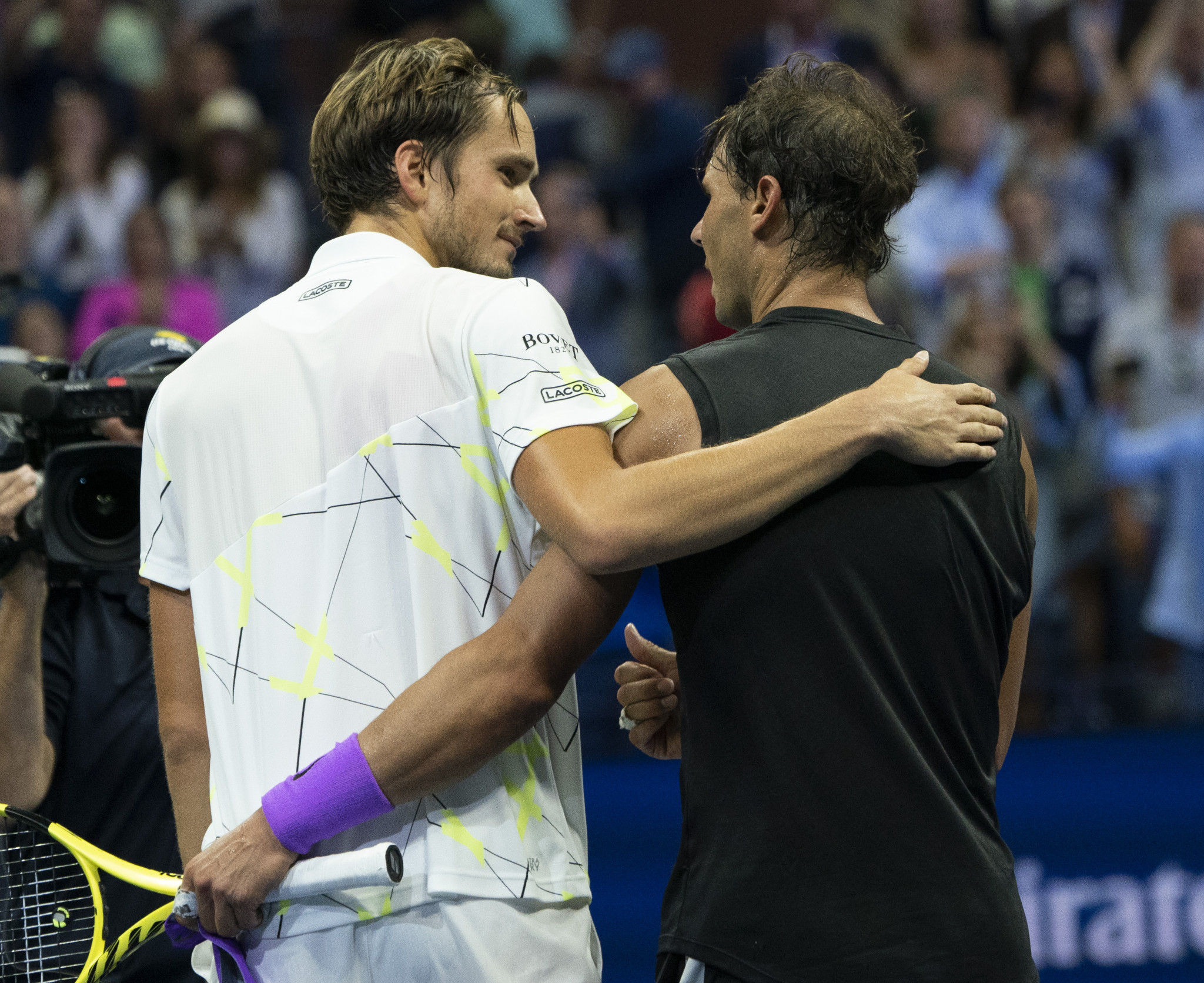 Rafael Nadal and Daniil Medvedev produced one of the all-time great finals ©Getty Images