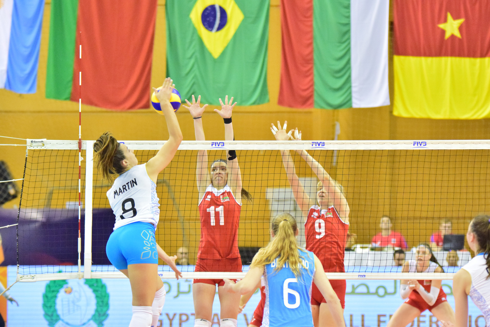Two knock-out places remain unclaimed after latest pool matches at FIVB Girls' Under-18 World Championship