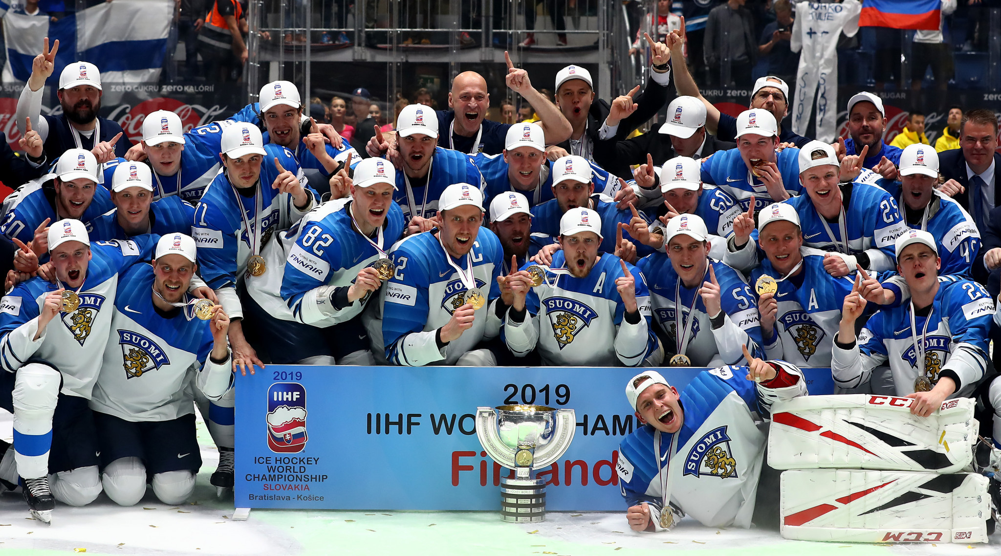 Finland will defend their title in Switzerland next year ©Getty Images