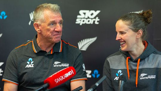 Bob Carter will lead the New Zealand women's cricket team into the ICC T20 World Cup in February ©New Zealand Cricket