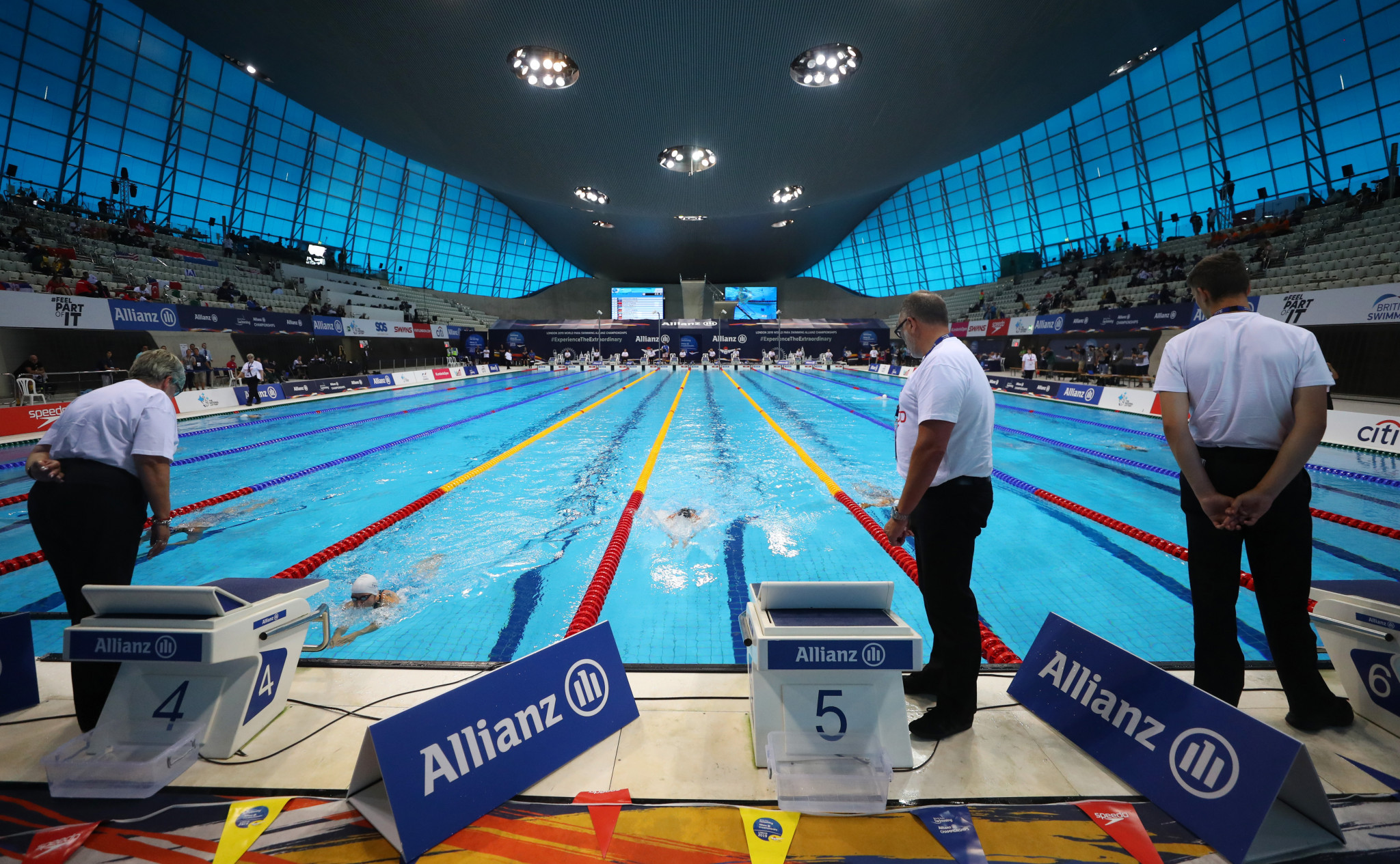 The 2019 World Para Swimming Championships have begun in London ©Getty Images