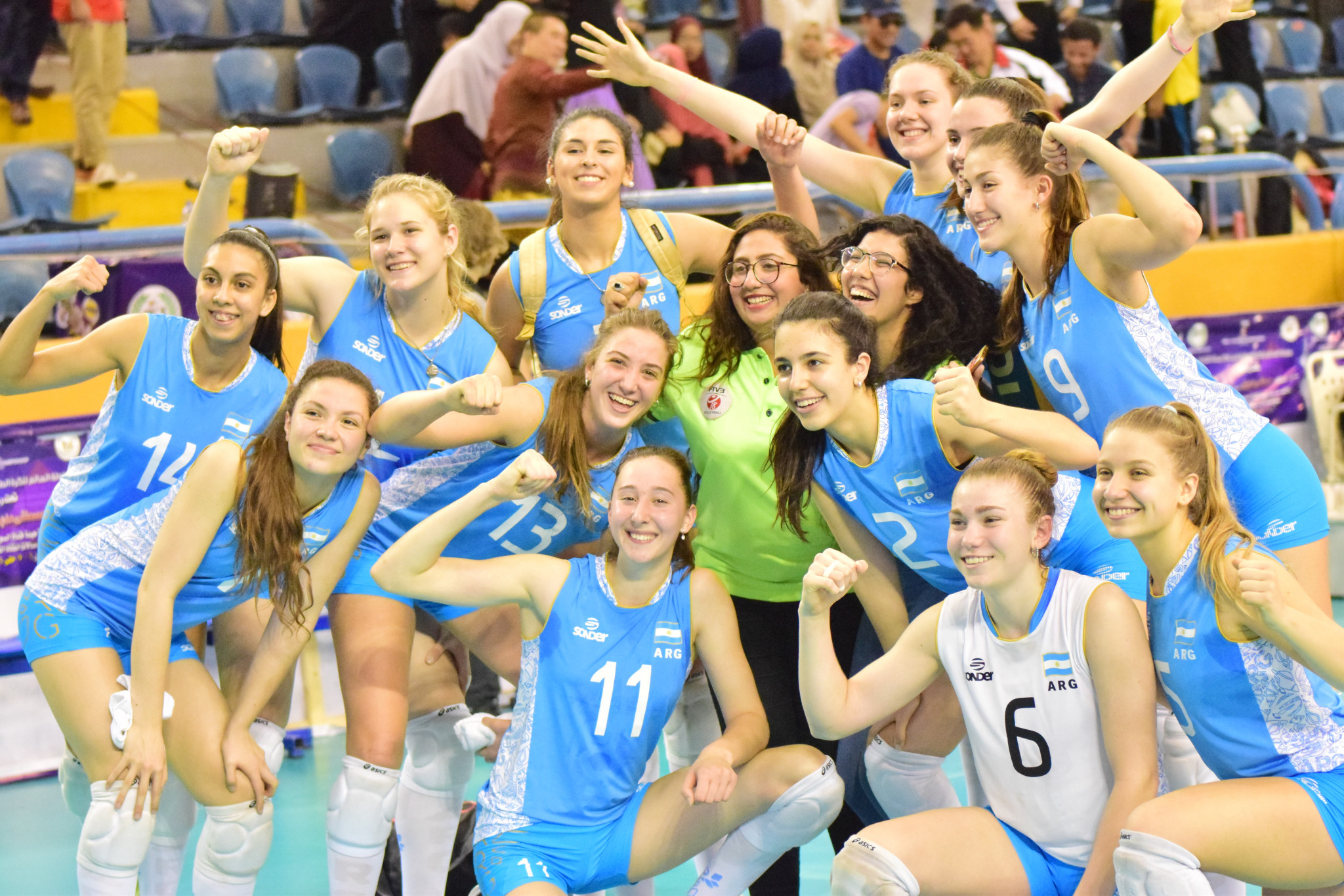 Argentina secure crucial victory to reach knockout phase at FIVB Girls' Under-18 World Championships