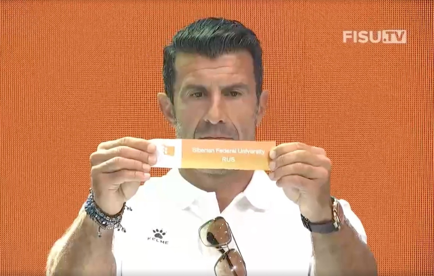 Figo to help conduct draw for inaugural University World Cup Football tournament