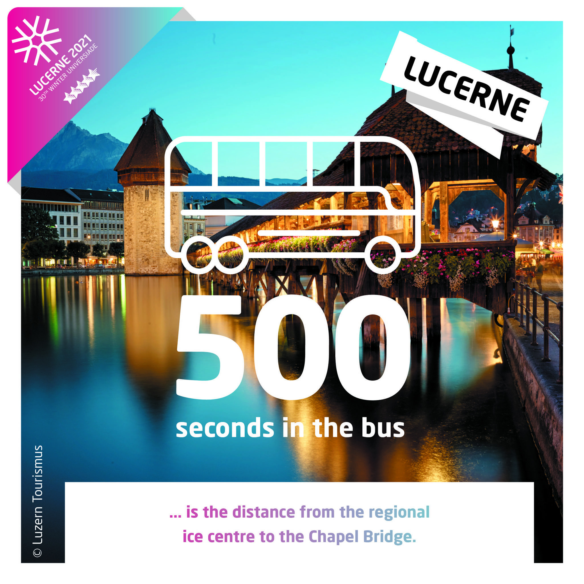 Lucerne 2021 mark 500 days to go until Winter Universiade