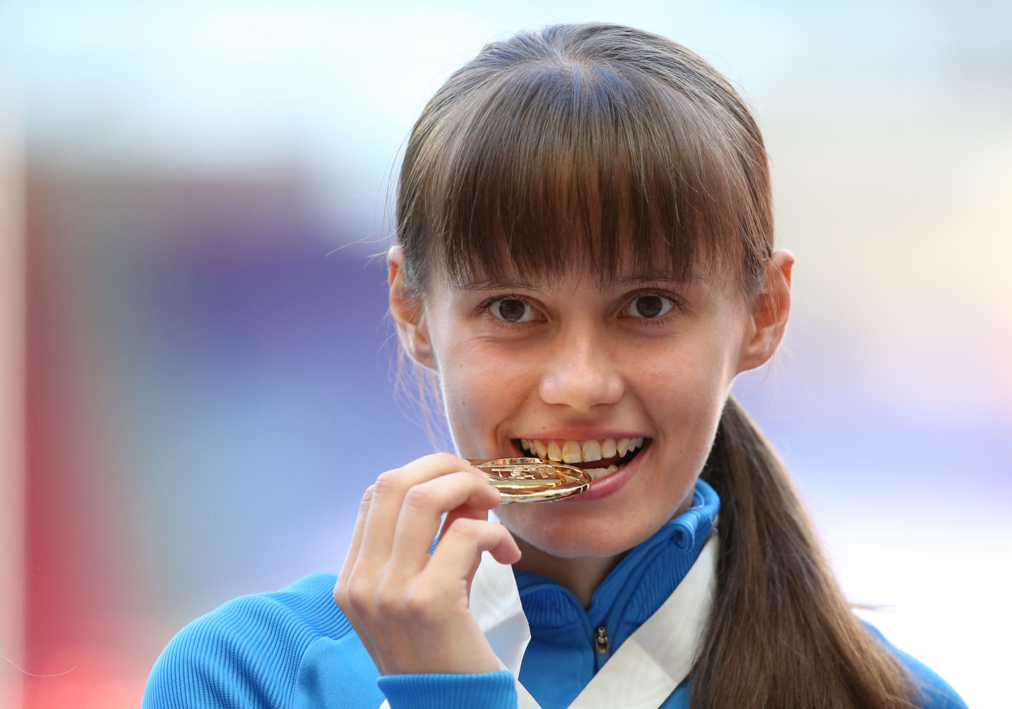 Race walk Olympic gold medallist Elena Lashmanova will not compete at the 2019 World Championships ©Getty Images