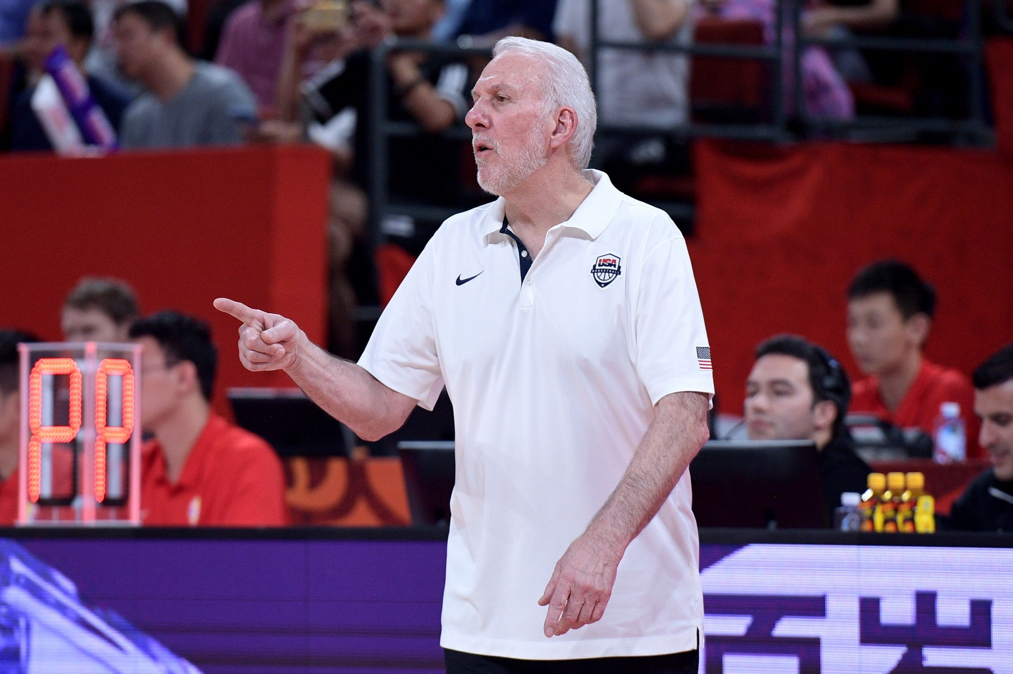 Coach Popovich delighted after US men's basketball team qualify for Tokyo 2020