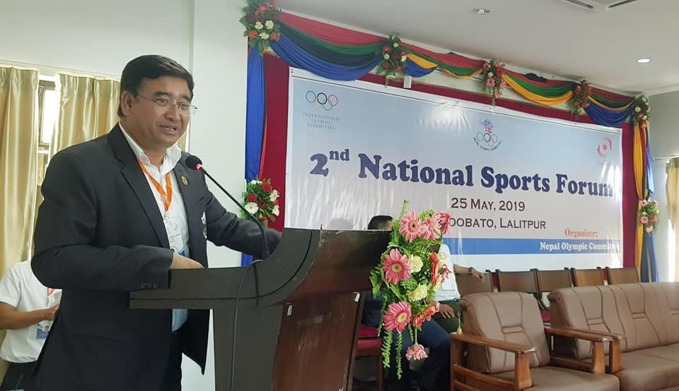 Jeevan Ram Shrestha has one challenger in his bid for re-election as NOC President ©NOC