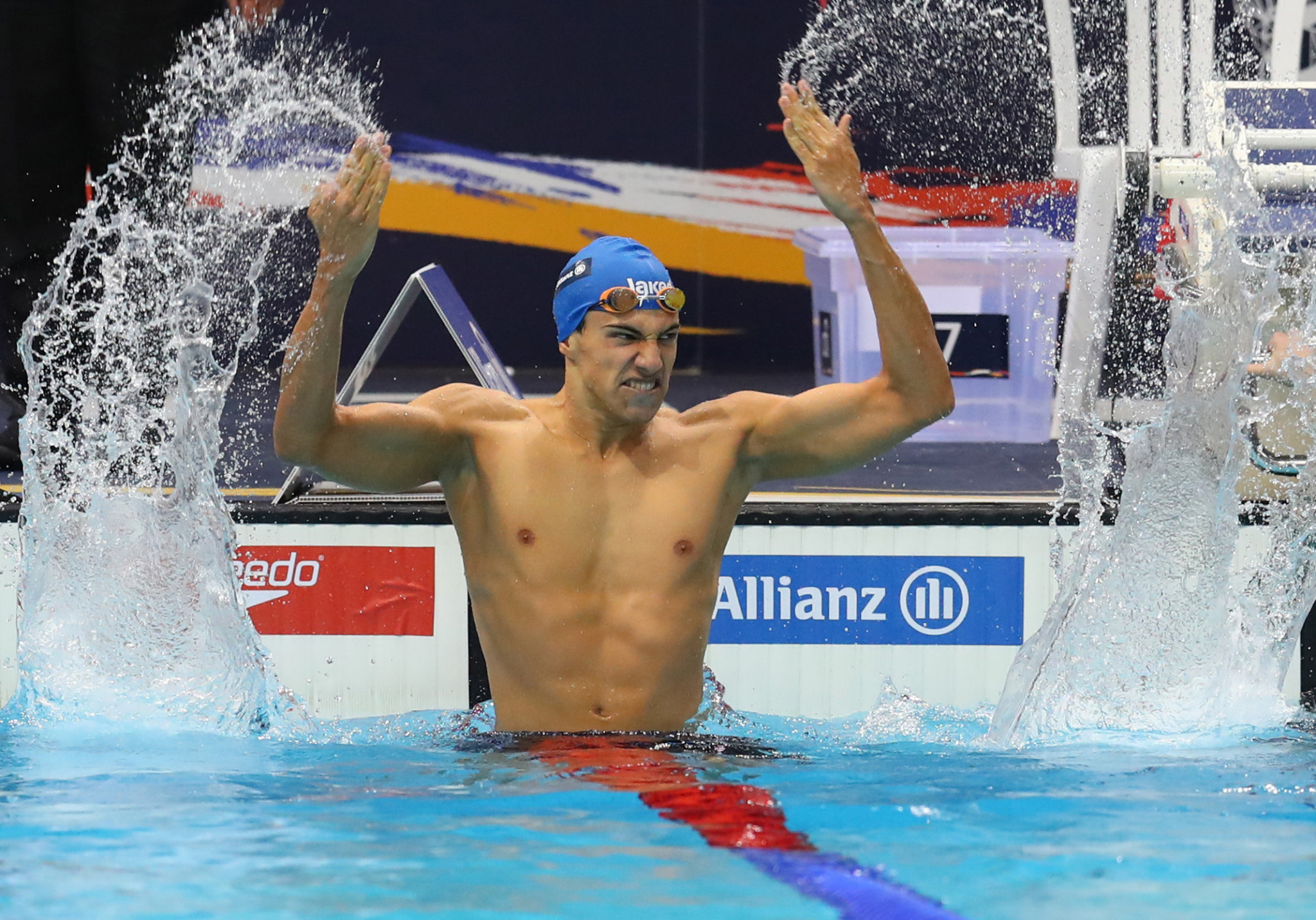 Simone Barlaam of Italy continued his record-breaking form to secure his second title of the Championships ©Getty Images